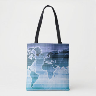 Global Technology Solutions Tote Bag