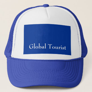 Global Tourist Men's Blue Hat