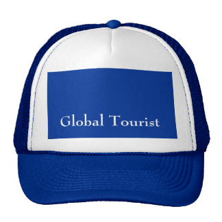 Global Tourist Men's Blue Hat