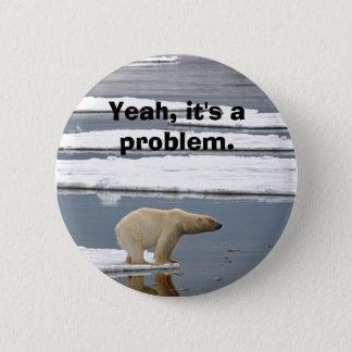 Global Warming 2 Inch Round Button
