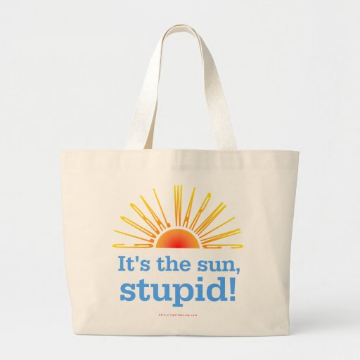 Global Warming Canvas Bags