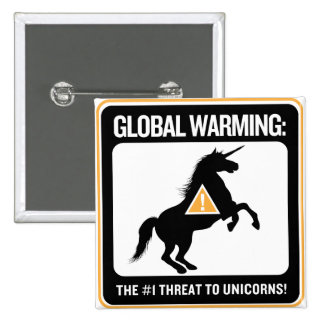 Global Warming Button