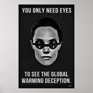 Global Warming Deception Poster