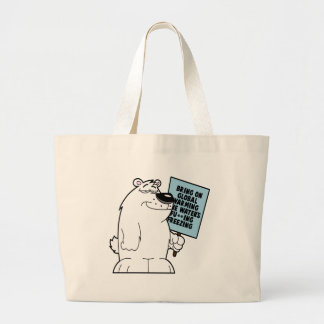 Global warming doesn t exist tote bags