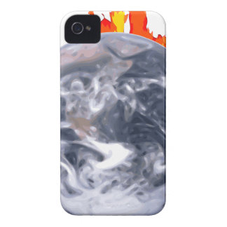 Global Warming Earth iPhone 4 Case