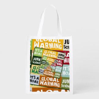 Global Warming Fraud Grocery Bags