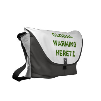 Global Warming Heretic Messenger Bag