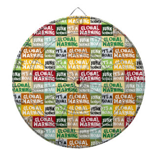 Global Warming Hoax Dartboard