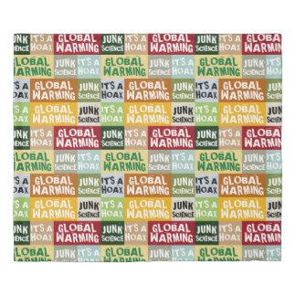 Global Warming Hoax Duvet Cover