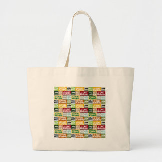 Global Warming Hoax Large Tote Bag