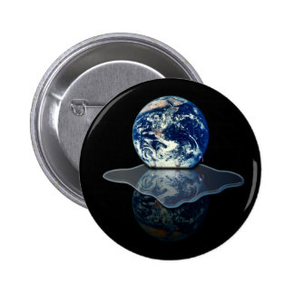 Global Warming I 2 Inch Round Button