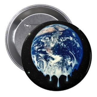 Global Warming II 3 Inch Round Button