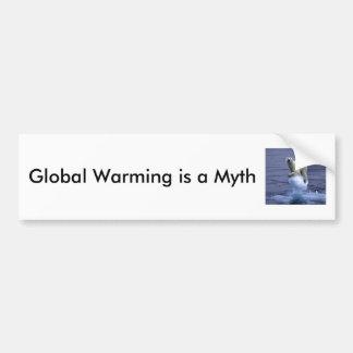 Global Warming is a Myth Bumper Sticker