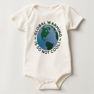 Global Warming is So Not Cool Baby Bodysuit