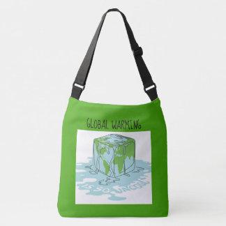Global Warming is so Uncool Crossbody Bag