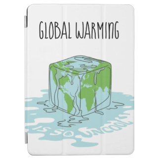 Global Warming is so Uncool iPad Air Cover