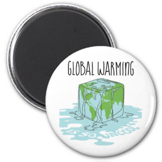 Global Warming is so Uncool Magnet