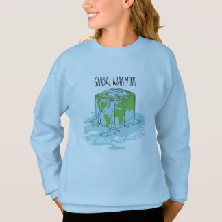 Global Warming is so Uncool Sweatshirt