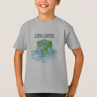 Global Warming is so Uncool T-Shirt