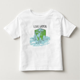 Global Warming is so Uncool Toddler T-shirt