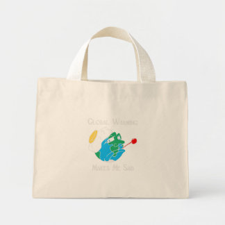 Global Warming Mini Tote Bag