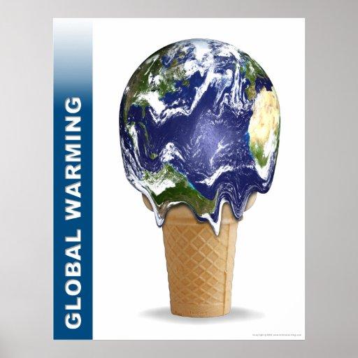Global Warming Print