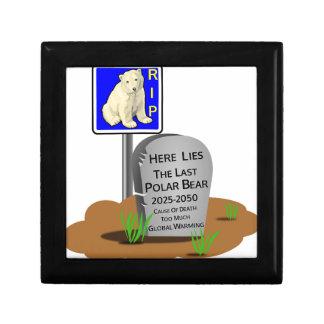 Global Warming,RIP Polar Bear 2050 Gift Box