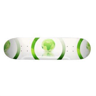 Global Warming Skateboard