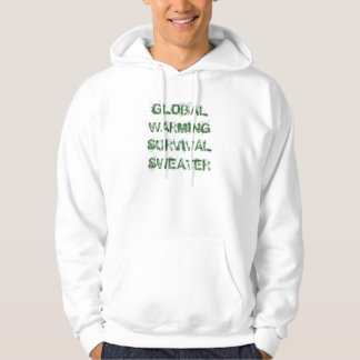 Global Warming Survival Sweater