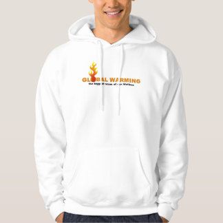 GLOBAL WARMING THE BIGGEST SCAM... HOODIE