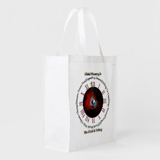 Global Warming - TisRO Grocery Bag