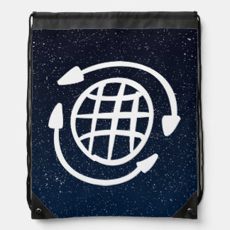 Global Warmings Symbol Cinch Bags