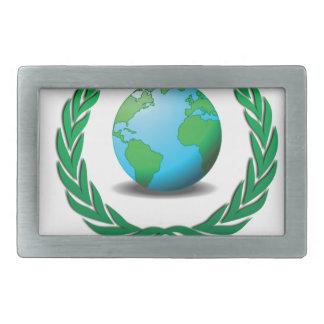 global wreath belt buckles