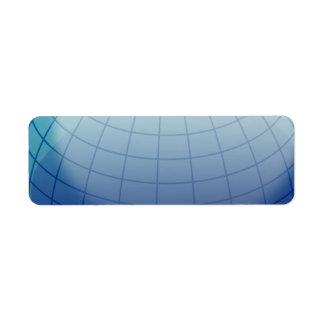 Globe_1_Vector_Clipart Return Address Label