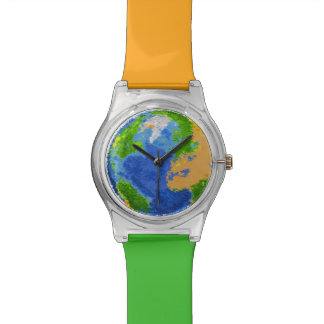 Globe 2 wrist watch