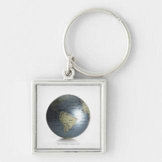 Globe 3 keychains