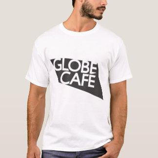 Globe Cafe black white T-Shirt