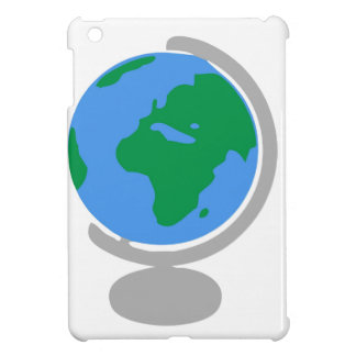 Globe Cartoon iPad Mini Covers
