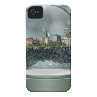 Globe de neige d'île de Providence Coque Case-Mate iPhone 4