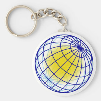 Globe globe keychain