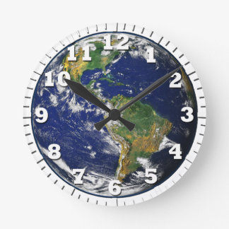 globe is our earth round clock