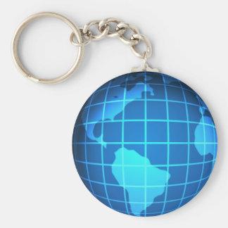 Globe Keychains