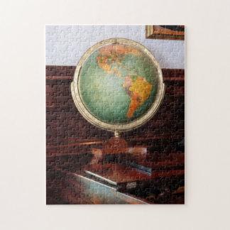 Globe on Piano Jigsaw Puzzle