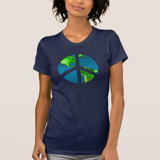Globe Peace Sign Shirt