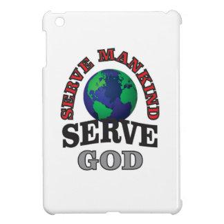 globe serve god and mankind iPad mini cases