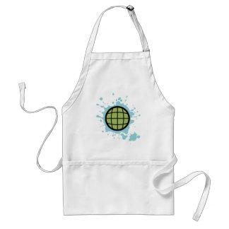 Globe Splotch. Standard Apron