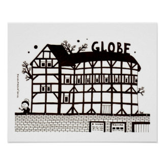 Globe Theater Poster