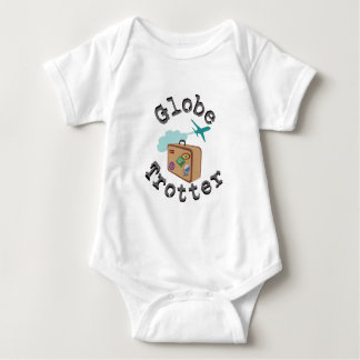 Globe Trotter Baby Bodysuit