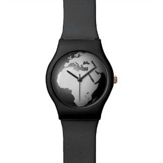 Globe universal time superb style world watch