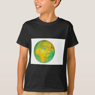 Globe with planet earth isolated on white T-Shirt